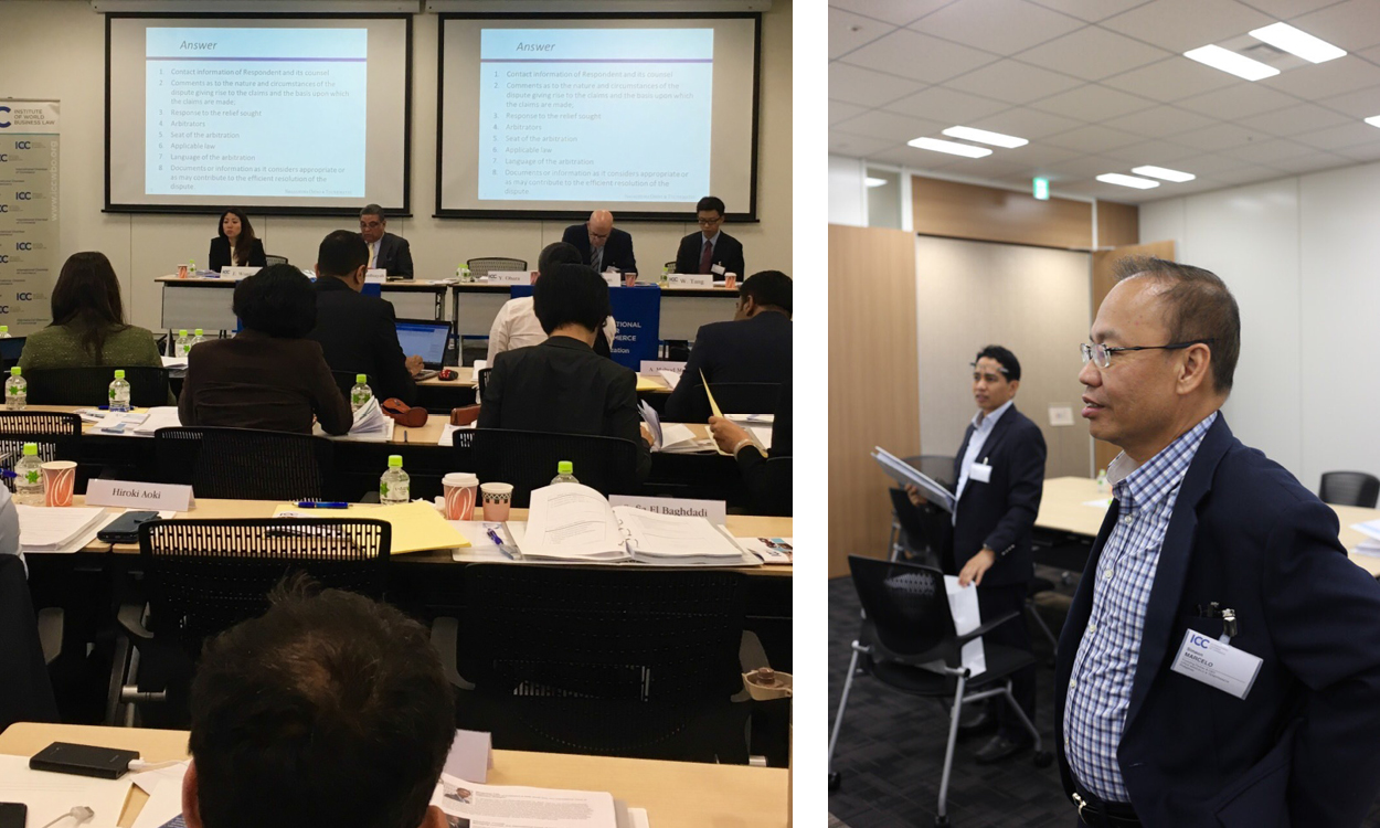 International Chamber of Commerce Japan Arbitration Week 3