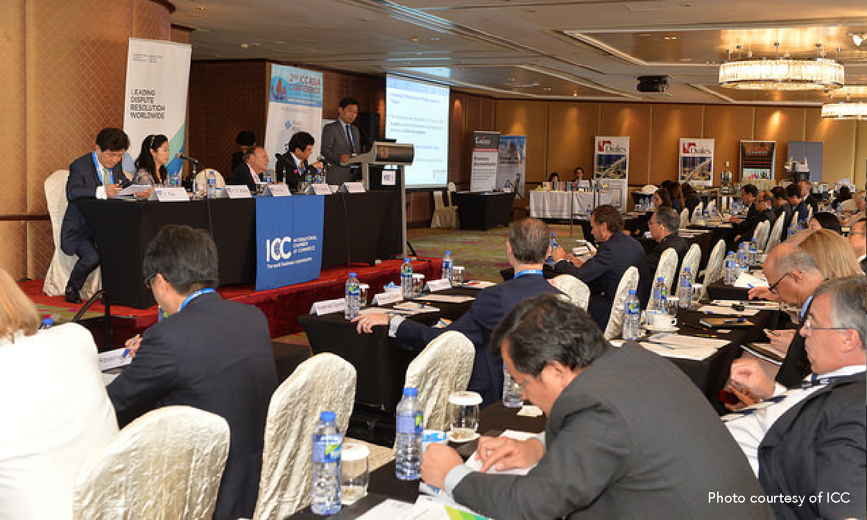 2nd ICC Asia Conference  on International Arbitration 2